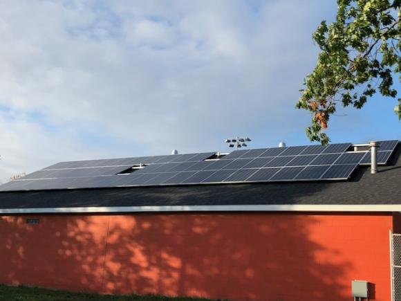 New Solar Panels at Houghton High School